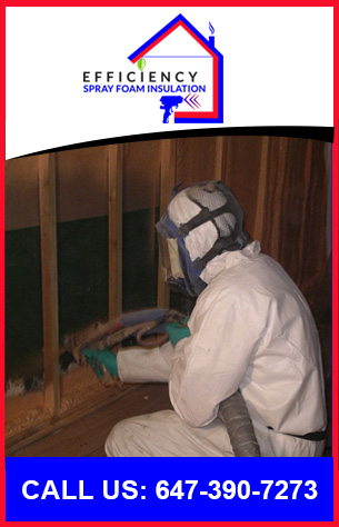 Contact Efficiency Spray Foam Insulation